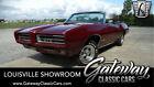 1969 Pontiac GTO Convertible Burgundy 1969 Pontiac GTO Convertible 400 CID V8 4 Speed Manual Available Now!
