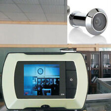 "2.4"" LCD Visual Monitor Door Peephole Peep Hole Wireless Viewer Camera Video MT"