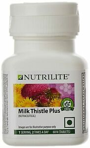 Amway Nutrilite Milk Thistle Plus 60 Counts Free Shipping Worldwide
