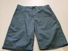 Hurley Mens Harrison Striped Hybrid Walk Shorts Chinos Khakis  Size 31