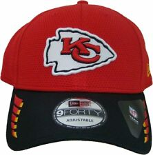 official photos ac558 da9d1 Kansas City Chiefs New Era 9FORTY NFL ADJUSTABLE BASEBALL HAT   CAP