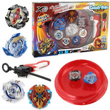 Bey Blade Arena Set Metal Fusion Beyblades With Launcher Spinning Bayblade 4pcs