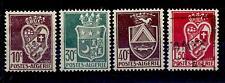 ALGERIA - 1942-1945 - Emissioni locali con stemmi -