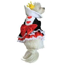 Queen of Hearts Dog Costume by Anit Accessories ~ Size Medium