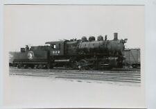 """1955 Great Northern Railroad Steam Engine #829 0-8-0 Willmar MN  5"""" by 7"""" Photo"""