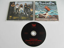 TERMINATOR Probability of Doom CD 1991 MEGA RARE OOP THRASH 1st PRESS MONITOR!!!