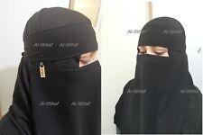 New Muslim 1 Layer Niqab Islam Hijab Abaya Jilbab Face Cover Veil Burqa Nikab