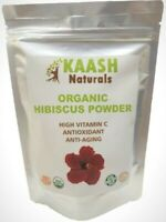 HIBISCUS Flower POWDER 100% Raw from India,USDA Certified Organic