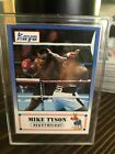 *RARE*  1991 MIKE TYSON KAYO PROTOTYPE BOXING CARD Boxing Card Rare Rookie RC