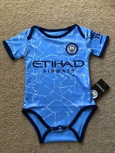 MANCHESTER CITY Baby Suit Unisex Outfit Newborn Infant Toddler Clothes