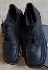 Banana Republic Mens Ridgedale Black Leather Tie Shoes Size 10.5 US New MSRP$128