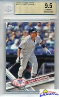 2017 Topps Gary Sanchez All Star Rookie BGS 9.5 GEM MINT NY Yankees!