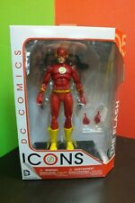 """DC ICONS DC Comics THE FLASH with Treadmill """"Chain Lightning"""" NEW Sealed"""