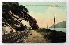 POSTCARD RAILROAD TRAIN CENTRAL HUDSON TUNNEL HUDSON RIVER NEW YORK #62