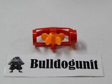 Marbulous Red Drop Tube w/ Yellow Spinner Piece Miniland Educational Marble