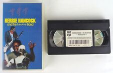 HERBIE HANCOCK AND THE ROCKIT BAND - VHS - RARE