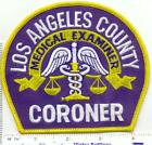 Los Angeles County Coroner (California) Shoulder Patch