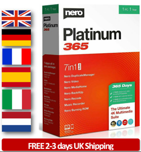 NERO PLATINUM 2021 1PC Lifetime (Unlimited) OR 1Year (365) Retail OR Emailed