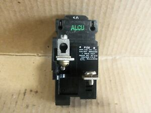 ITE Bulldog P150 1 Pole 50 Amp Circuit Breaker WITH SHIELDS AND TABS