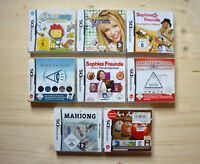 NDS - 8 Spiele für Nintendo DS in OVP (Set 13)