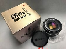 Nikon Nikkor 50mm f1.8 pancake lens like new and tested