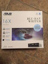 ASUS BW-16D1HT Black BD-R BD-RE DVD+R DVD-RAM BD-ROM SATA Blu-ray Burner