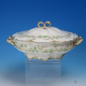 Haviland Limoges - Schleiger 501 - Charonne - Covered Vegetable Casserole Dish