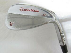 Used RH TaylorMade Milled Grind Chrome Single 56* Wedge - Wedge Flex Steel