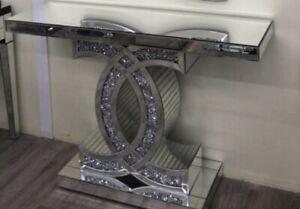 Modern Mirror Glam CC Entryway Table