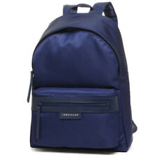 Auth Longchamp Le Pliage Neo Medium Backpack Bag Navy Blue 1119578556