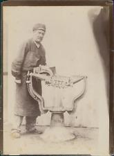France, Blois, Manufacture Chaussures Rousset  Vintage albumen print. Machines I