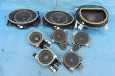 Lexus LS460 8 Speakers Speaker System Full Set 2007-2012 OEM