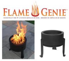 Flame Genie Firepit | Wood Pellet Smokeless Firepit | Smoke Free Patio Heater