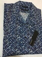 Marks & Spencer Autograph Luxury European Fabric Men's Short Sleeve Shirt Size L