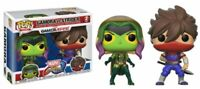 "MARVEL VS CAPCOM Figurine GAMORA VS STRIDER ""POP""  FUNKO"