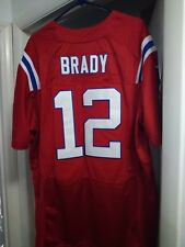 separation shoes 854ba 9cd3f denmark tom brady red throwback jersey 2767a 64f8a