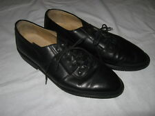 Kenneth Cole Men's Shoes Oxfords, Black Leather Dress Shoes, Size 10M