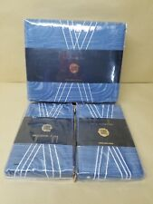 New Kelly Wearstler Tidal  KING Duvet Cover ,Sham Blue msrp $690