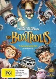 The Boxtrolls (DVD, 2014) Regions 2,4&5 With Ben Kingsley