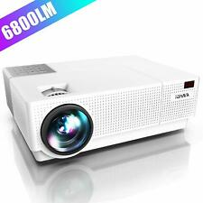 YABER Native 1920x 1080P Projector 6800 Lumens Upgrade Full HD Video Projector