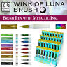 Zig Kuretake Wink of Luna Metallic Brush Marker Pen *Limited Stock*