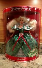 NIB HAPPY HOLIDAY'S 1995 BARBIE DOLL WITH DISPLAY STAND