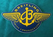 BREITLING CHRONOGRAPH RARO ADESIVO STICKER VINTAGE ANNI 80 NAVITIMER CHRONOMAT