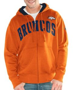 "Denver Broncos NFL G-III ""Huddle"" Full Zip Hooded Men's Sweatshirt"