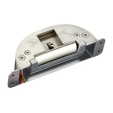 Electric Strike For Push Bar Fire Exit Door NO/NC Adjustable Lock Status Output