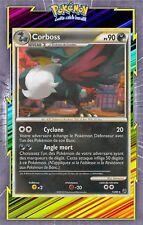 🌈Corboss - HS04:Indomptable - 15/90 - Carte Pokemon Neuve Française