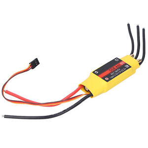50A 2‑Way Brushless ESC Electronic Speed Controller Accessory For RC Boat Parts