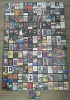 BUILD UR OWN Cassette Tape Lot - 60's 70's 80's Classic Rock Pop Soul Blues