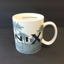 Starbucks Phoenix Barista Skyline Series Valley of the Sun 2002 Coffee Tea Mug