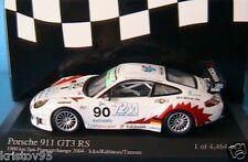 PORSCHE 911 GT3 RS #90 T2M 1000 KM SPA 2004 ICKX RABINEAU TINSEAU MINICHAMPS 400